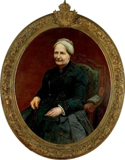 D. Teresa Cristina Maria de Bourbon – Duas Sicílias    Terceira Imperatriz do Brasil    Armand Berton, óleo sobre tela s/a    Faleceu em 28/12/1889
