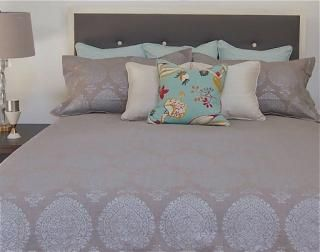 Chic Taj Natural Duvet Cover Available in 4 Sizes