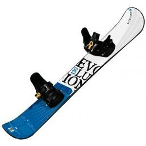 Evolution 127cm Snowboard with Pro Style Bindings by Evolution. $109.95. Take to the snowy hills with our Evolution 127cm Snowboard with Pro Style Bindings.