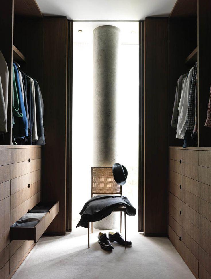 Eleven Lust-Worthy Closets & Dressing Rooms  |  Tailored symmetry by Yabu Pushelberg. Photo by Jonny Valiant.