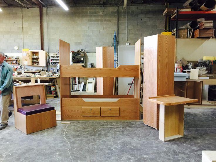 Marine custom furniture