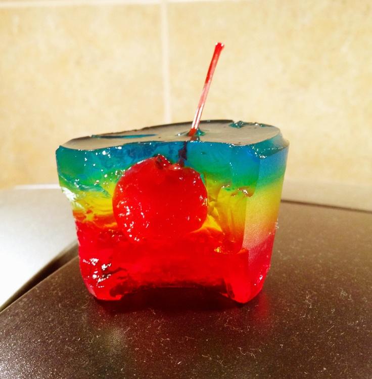17 Best Ideas About Rainbow Jello Shots On Pinterest
