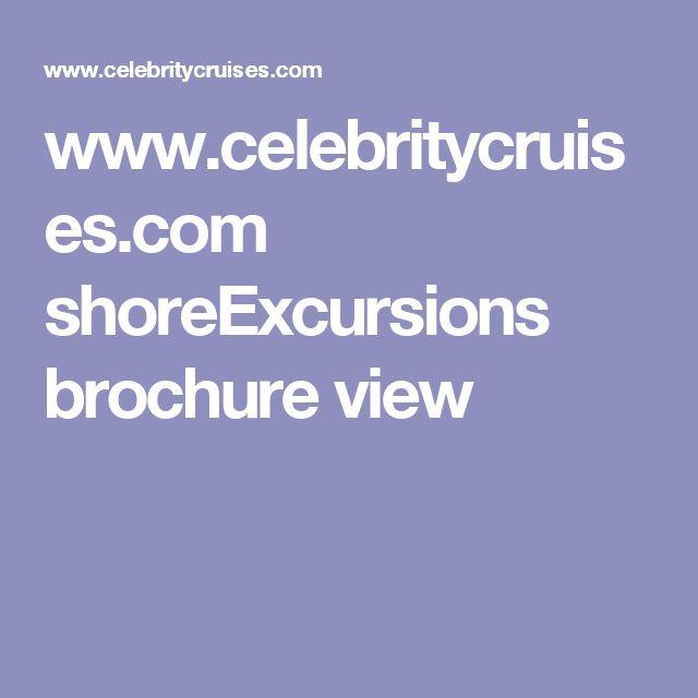 www.celebritycruises.com shoreExcursions brochure view