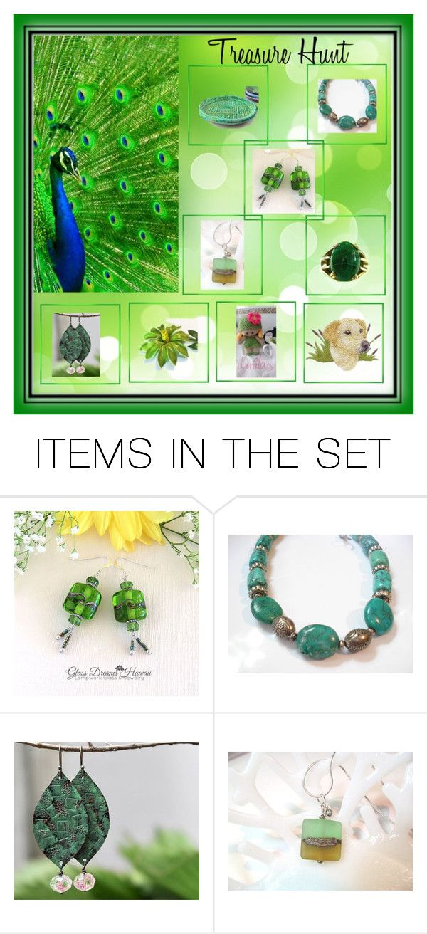 Treasure Hunt by glassdreamshawaii on Polyvore featuring art and vintage