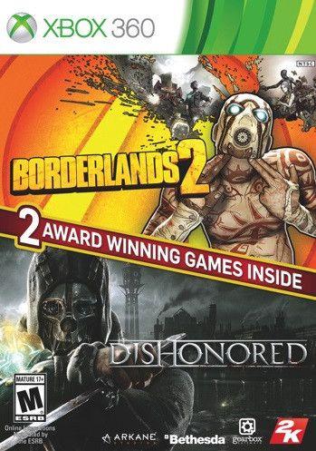 Borderlands 2 & Dishonored Bundle (Xbox360)