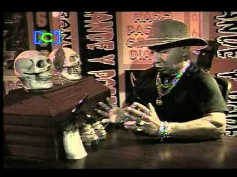 CHAMAN RAMIRO BRUJO DIABOLICO EN EL CANAL RCN - YouTube