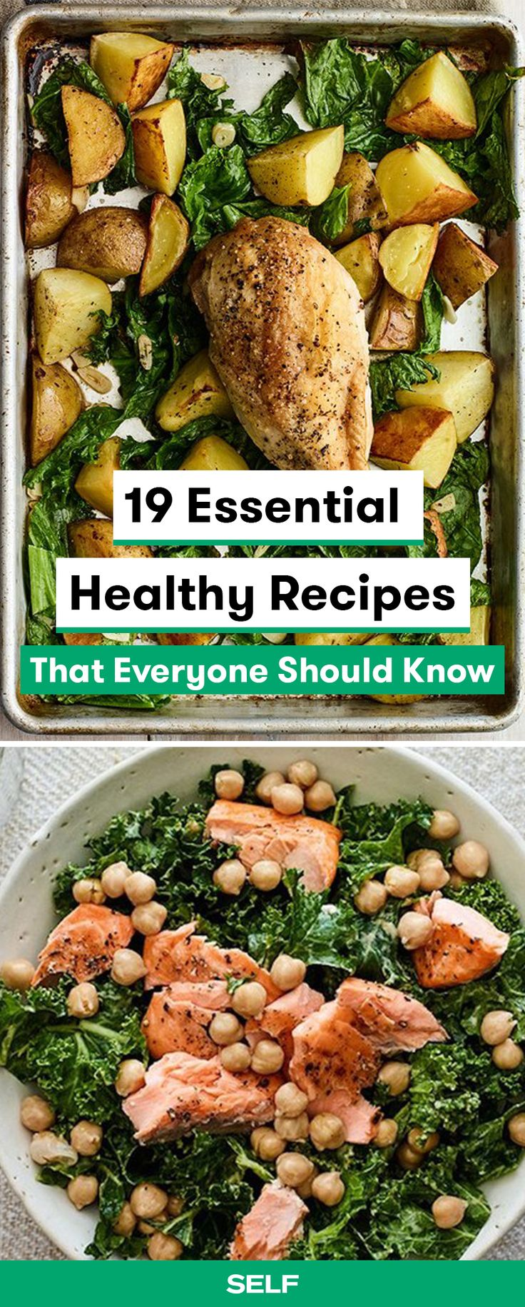 These essential healthy recipes are easy and simple to make. Fill up with delicious kale, salmon, and whole-grain pastas for a meal that keeps on giving in an hour or less.