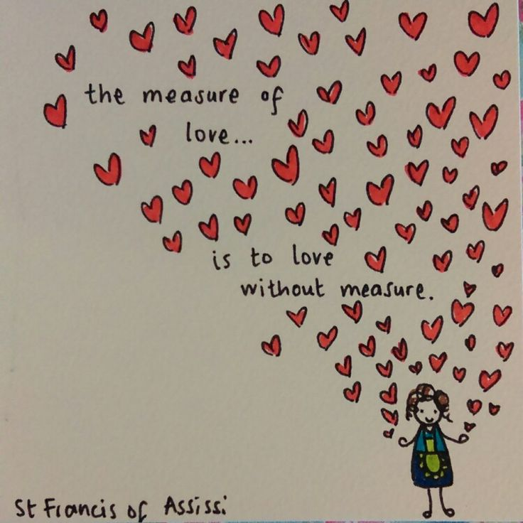 Love quote by st francis of assissi birthday card drawing for my amazing mum!! Happy birthday mum!!