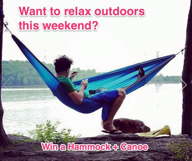 Win a Coleman Canoe and (2) ENO Hammocks