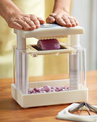 Need this thing for chopping onions, I cook with onions all the time and takes to long to dice them