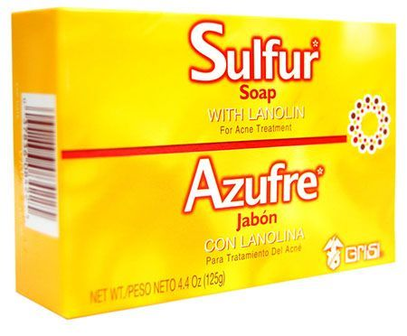 This soap is good for acne just leave it on for 10 minutes and your acne dries up and gets smaller gradually.