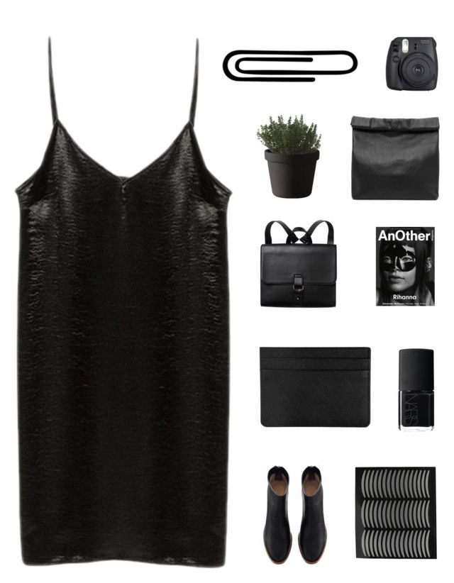 """s a b l e / i've been looking sad in all the nicest places."" by thenewgirl3 ❤ liked on Polyvore featuring Monki, NARS Cosmetics, Marie Turnor, Muuto, Fuji, Alexander McQueen, 2ksongchallenge, lazyhannah and goals"