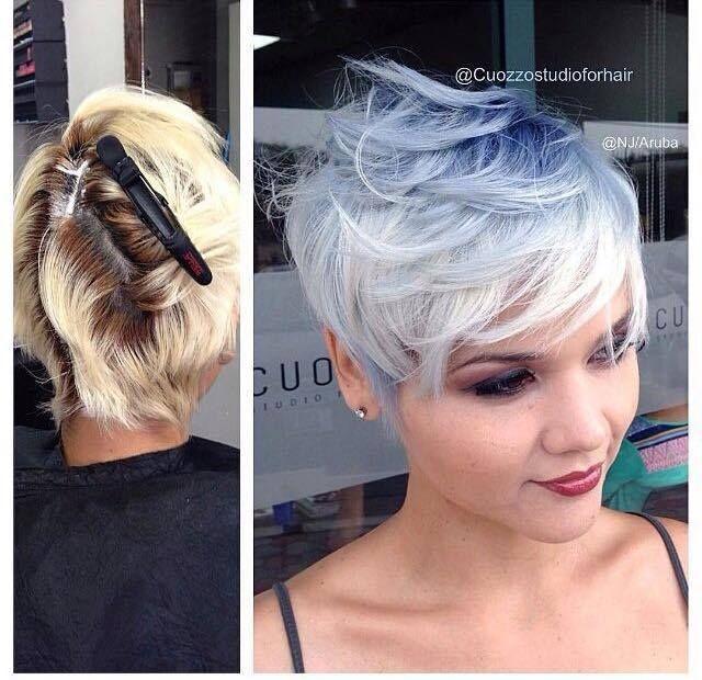 12 prachtige kapsels met grijs, kort haar.. dé trend van deze zomer! - Pagina 2 van 12 - Kapsels voor haar