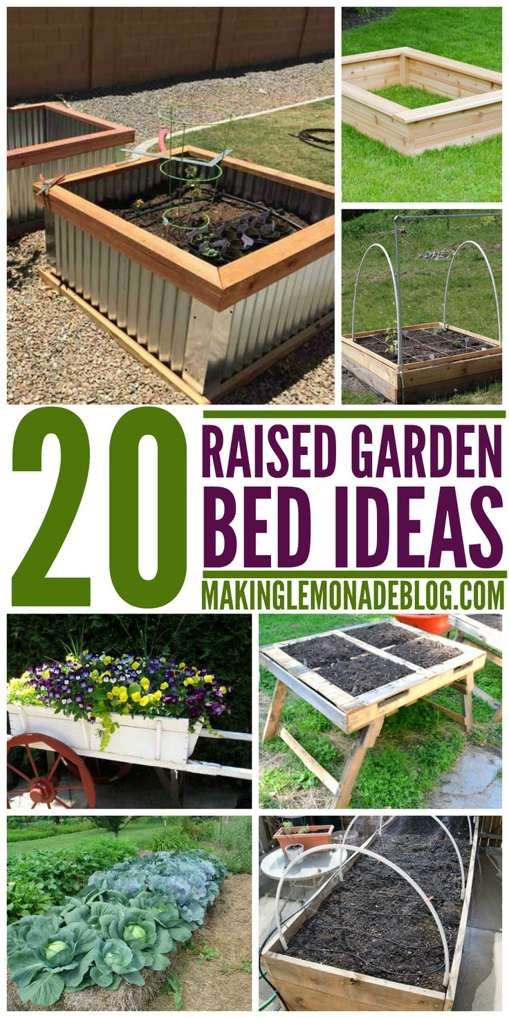 These Raised Garden Bed Ideas Are So Easy And Clever, I Want To Make #