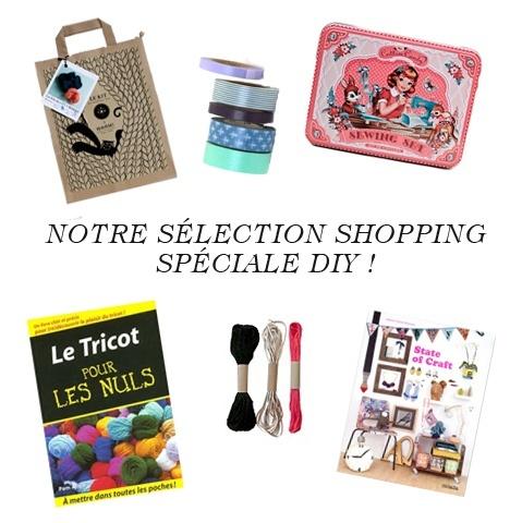Notre sélection shopping DIY