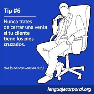 Tips para el lenguaje corporal