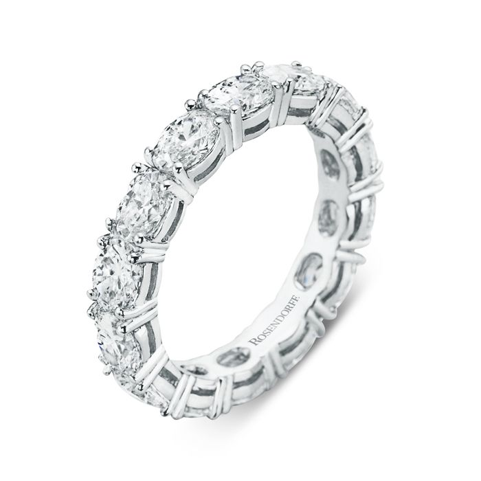 Rosendorff Belle Circle of Love Ring crafted in 18ct white gold
