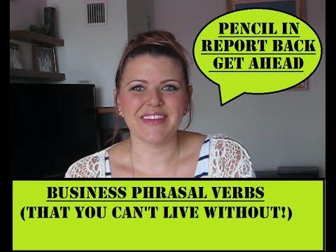Business Phrasal Verbs| Ladies Learn English