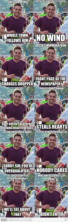 The Best of Ridiculously Photogenic Guy.     (Don't hate him because he's beautiful.)