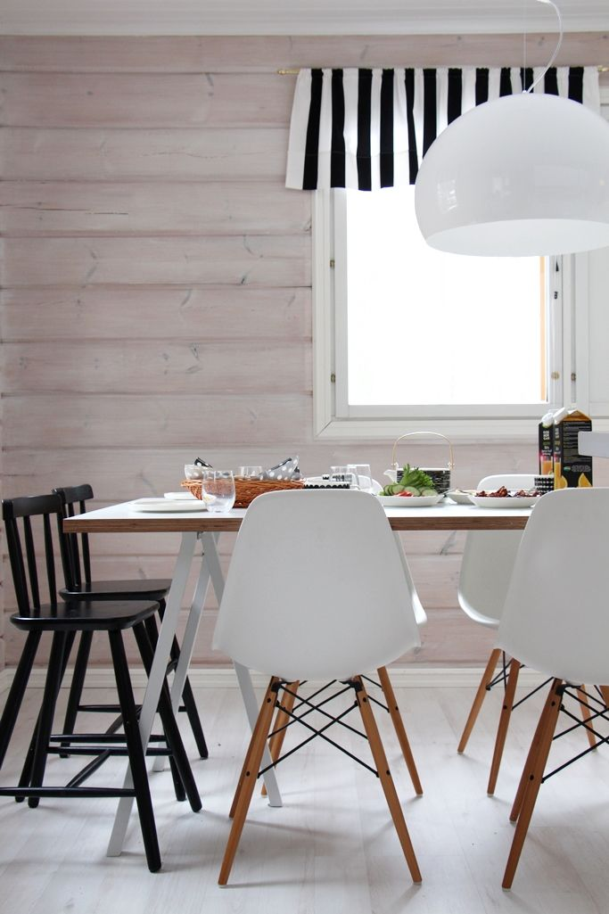 Scandinavian Home Kitchen Diningroom Plywood Table Eames