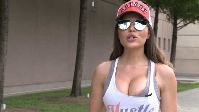 HOUSTON – A local baseball fan has gone viral after followings harsh criticism over an outfit she wore to an Astros game. While Terann Hilow…