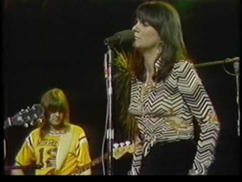 Linda Ronstadt and The Eagles....Silver Threads and Golden Needles. Look how young they are! :-)