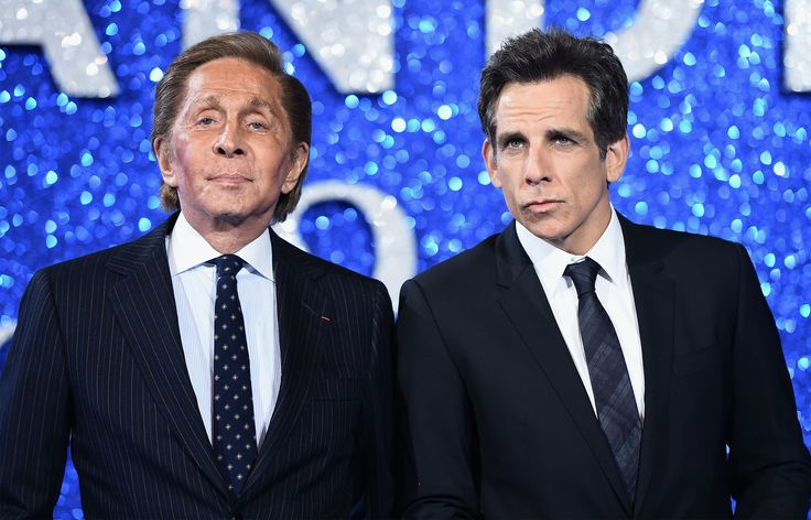 (Photo by Ian Gavan/Getty Images for Paramount Pictures) *** Local Caption *** Valentino;Ben Stiller