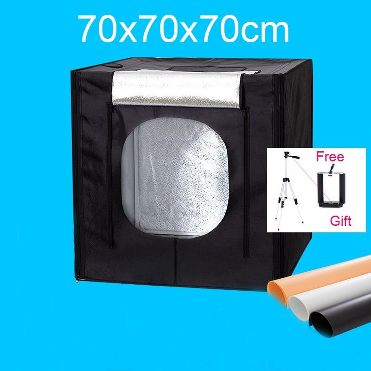On sale US $85.37  70*70*70CM Led Photo Studio Light Tent Photography Softbox Light Box Shooting Lightbox Kit +Dimmer Switch With Free Gift      #Photo #Studio #Light #Tent #Photography #Softbox #Shooting #Lightbox #+Dimmer #Switch #Free #Gift  #Internet