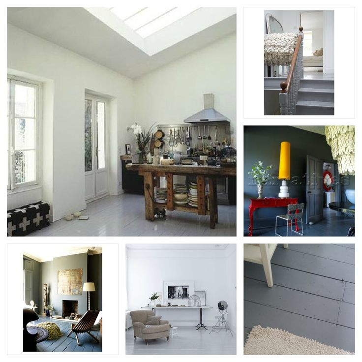 Mad About . . . Painted Floorboards - Mad About The House