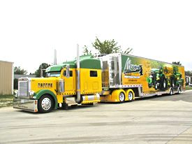 Jim Mowrey 2009 T&E 56' Tractor Pulling Semi Trailer