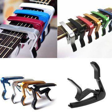 Sólo €2.19, compra mejor Desencadenar rápida llave para cambiar la ceja de la abrazadera para la guitarra clásica eléctrica acústica venta en línea en pricio del wholesale. Almacén de EE.UU./UE.