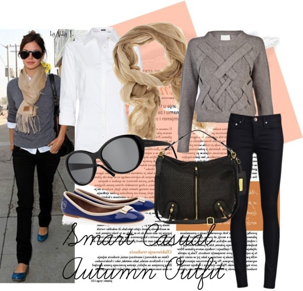 Smart Casual Autumn Outfit, created by abbytamase on Polyvore