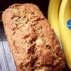 Bijna vetvrij bananenbrood. All recipes nu ook in het Nederlands!