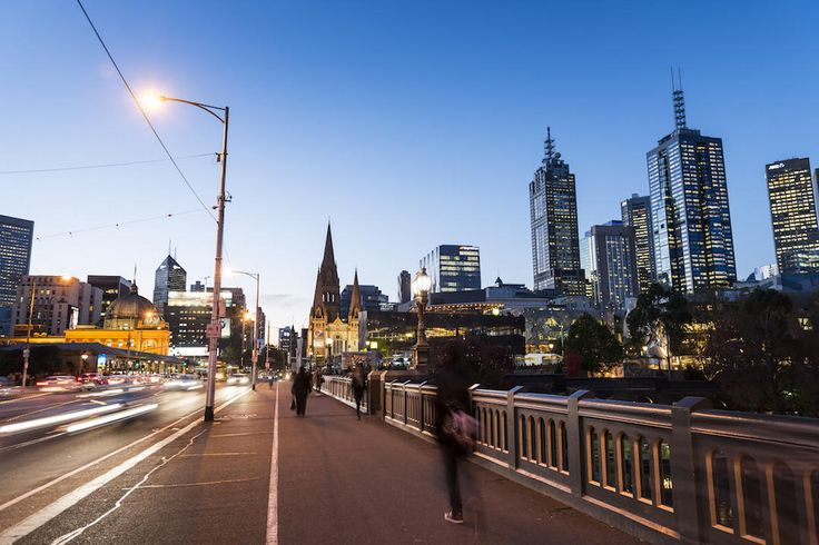 Princes Bridge. Melbourne