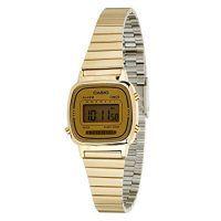 Reloj digital casio dorado para mujer - https://relojesdorados.com/casio