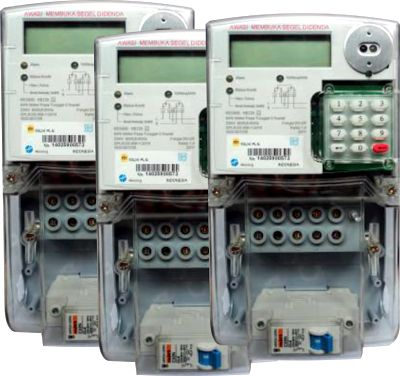 hemat listrik: kWH meter Hexing Prepayment-HE 120
