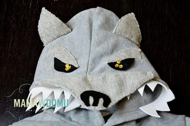 Strój przebranie kostium WILK! #halloween #costumes #wolf #diy