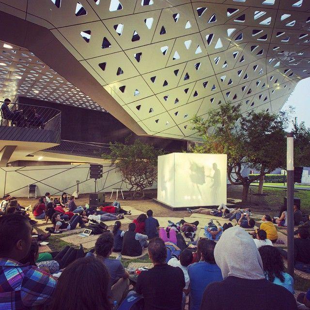 Saturday outdoor concerts at @cinetecanacionalmx  #SesionesAlAire photo by @jaimenavarros #LifeAtCineteca