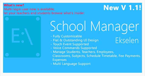 Ekselen - School Management System (Project Management Tools)