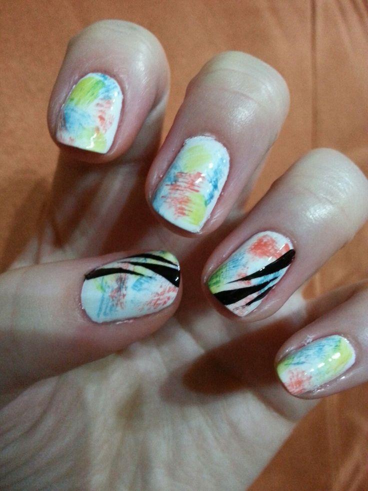 Sumer nail art