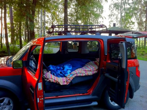 best 25  honda element camping ideas on pinterest