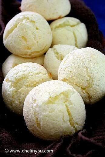 Pao De Queijo (Brazillian Cheese Bread Recipe). My favorite Brazil food.