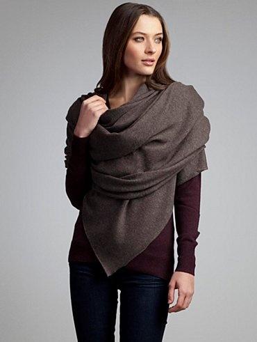 cashmere travel scarf