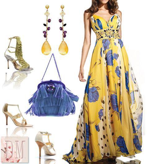 vestido-longo-estampado-com-sandália-DM-para-casamento1 http://www.mulherbeleza.com.br