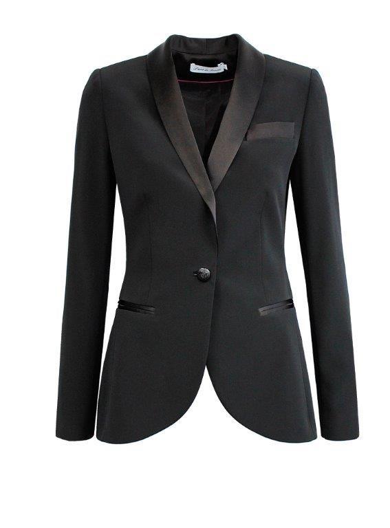 the simple black jacket