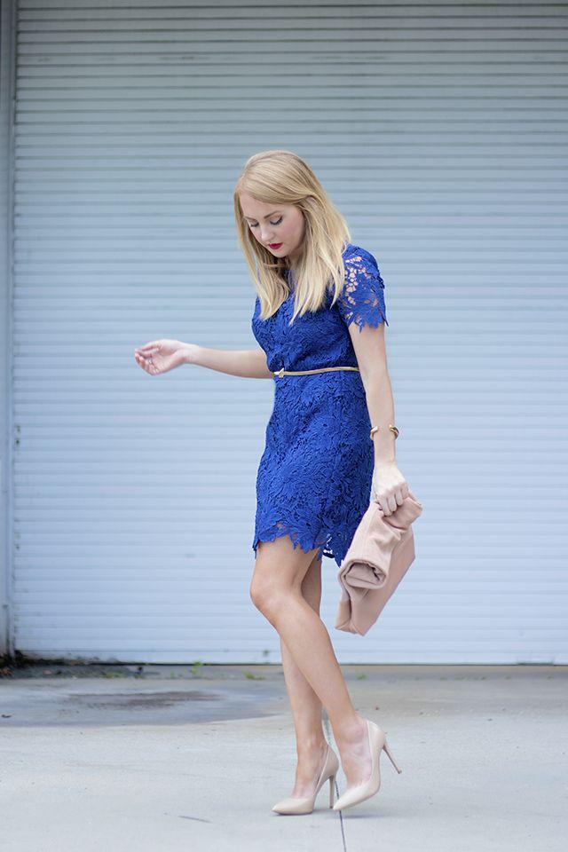 f4a713a36cf royal blue lace dress