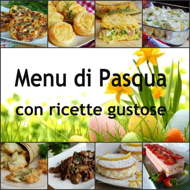 Menu di Pasqua con ricette gustose