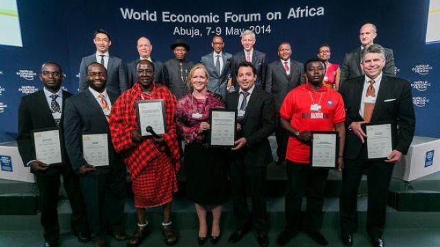 Les 6 Africains élus entrepreneurs sociaux de l'année 2014 (WEF)