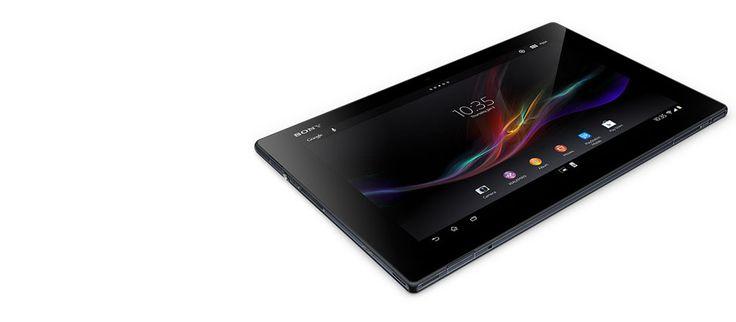 Xperia™ Tablet Z   Vand- og støvtæt tablet   Sony