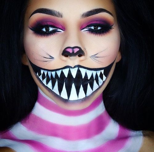 halloween makeup, Halloween, and make up image